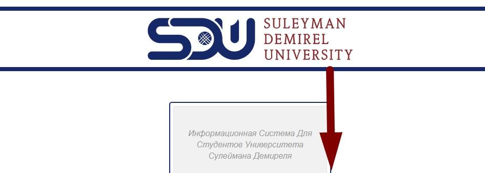 MY SDU EDU KZ